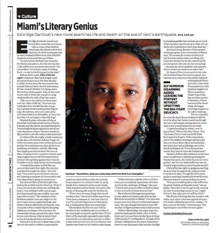 Miami's Literary Genius