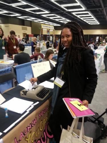 Fiction Editor Fabienne Sylvia Merritt