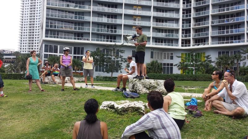 Michael Hettich at Miami Circle